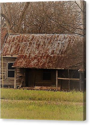 Canvas Print featuring the photograph The Shack by Aaron Martens