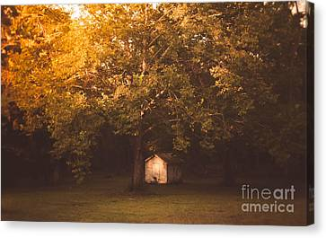The Shack Canvas Print by Andrea Anderegg