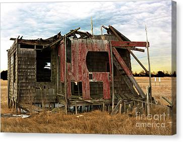 Canvas Print featuring the photograph The Shack by John Rizzuto