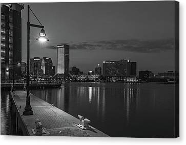 Florida Bridge Canvas Print - The Shadow Knows by Capt Gerry Hare