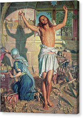 The Shadow Of Death Canvas Print by William Holman Hunt