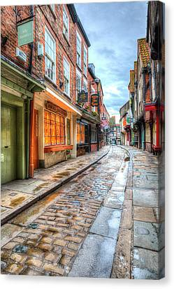 The Shambles York Canvas Print by David Pyatt