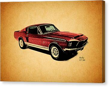 The Shelby Gt500 Canvas Print