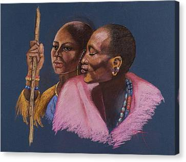 The Sheperds Canvas Print by Pamela Mccabe