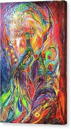 The Shining Canvas Print by Elena Kotliarker