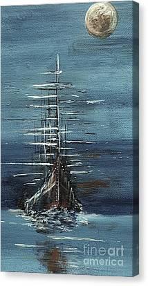 The Ship Canvas Print