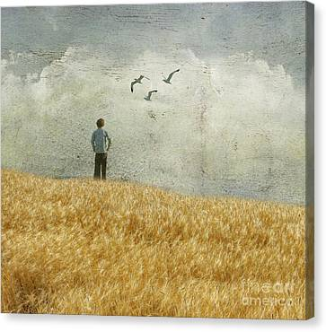 Artography Canvas Print - The Silence In Between by AJ Yoder