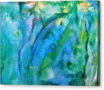 The Silent World Canvas Print by Madina Kanunova
