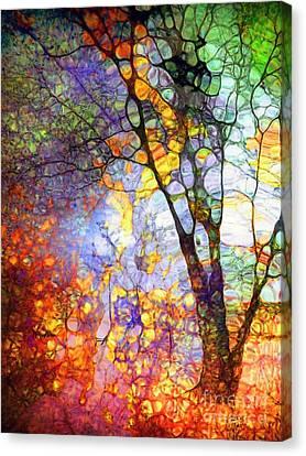 Penticton Canvas Print - The Simple Tree by Tara Turner