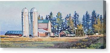 The Sipple Farm Canvas Print by Larry Seiler