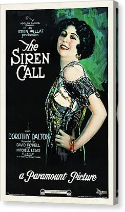 The Siren Call Canvas Print by Paramount
