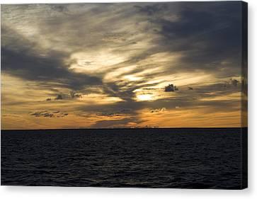 The Sky Burns Canvas Print