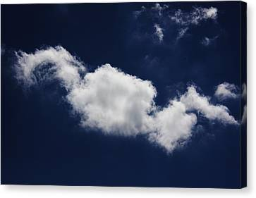 Canvas Print featuring the photograph The Sky Is The Limit by Michael Albright