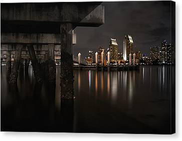 The Skyline Of San Diego Canvas Print