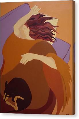 The Sleeping Beauties Canvas Print