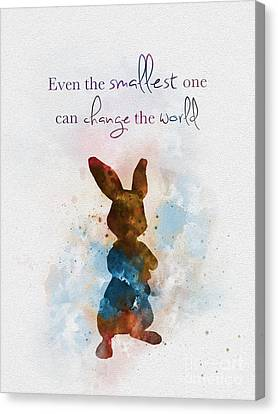 The Smallest One Canvas Print by Rebecca Jenkins