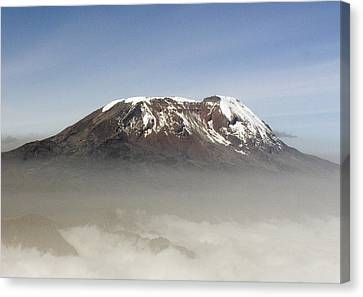 The Snows Of Kilimanjaro Canvas Print by Patrick Kain