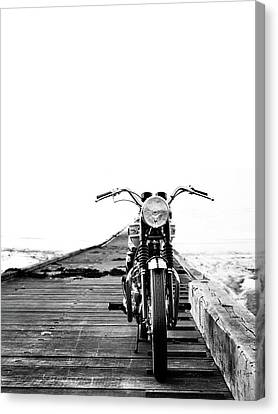 The Solo Mount Canvas Print by Mark Rogan