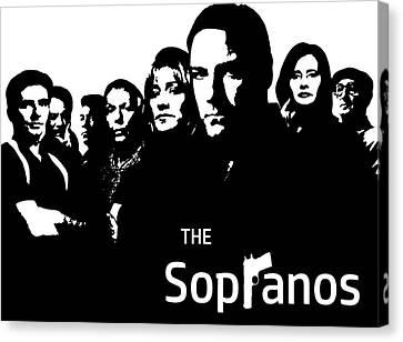 The Sopranos Poster Canvas Print