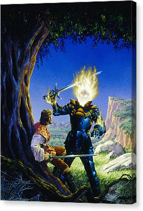 The Sorcerer's Son Canvas Print by Richard Hescox