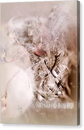 The Soul Seeks Its Own Path Canvas Print