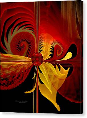 The Soul Sees What Is Within Canvas Print by Gayle Odsather
