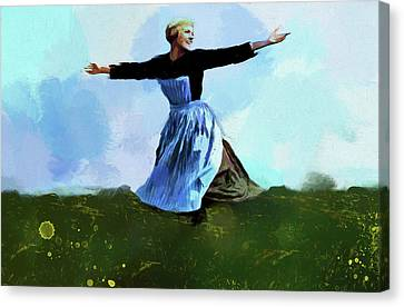 The Sound Of Music Canvas Print by Dan Sproul