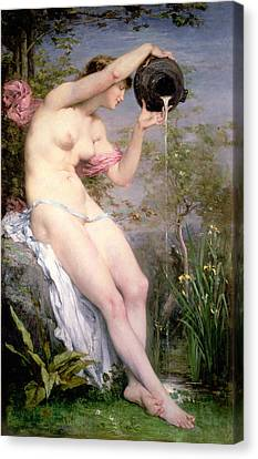 The Source Canvas Print by Joseph Victor Ranvier