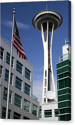 The Space Needle Too Canvas Print by Todd Kreuter