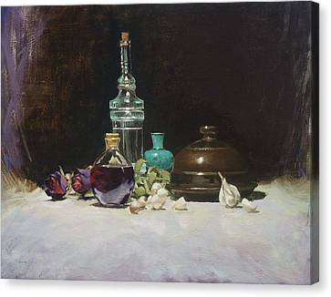 The Spanish Bottle Canvas Print