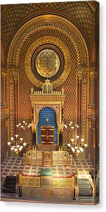 The Spanish Synagogue Canvas Print