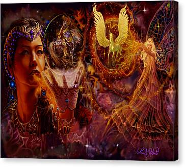 Faries Canvas Print - The Spell Masters by Steve Roberts