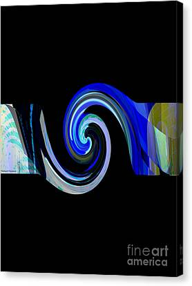 The Spiral Canvas Print by Thibault Toussaint