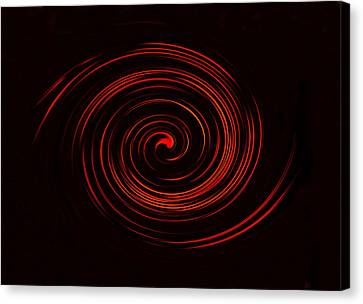 The Spirals Of Andromeda Canvas Print by David Lee Thompson