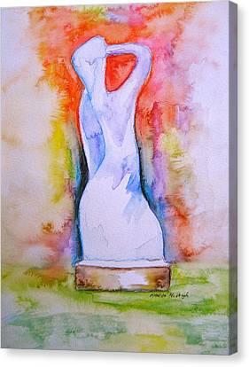 The Spirit Of Manayunk Canvas Print by Marita McVeigh