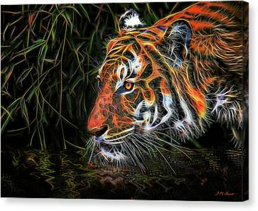 Canvas Print - The Spirit Of The Tiger  by Michael Durst
