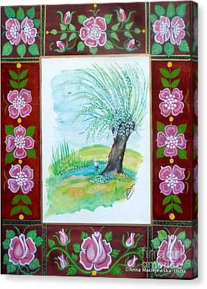 The Spring Canvas Print by Anna Folkartanna Maciejewska-Dyba