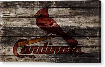The St Louis Cardinals W1 Canvas Print