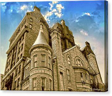 Canvas Print featuring the photograph The Stafford Hotel by Brian Wallace
