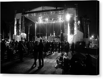 The Stage Canvas Print by David Lee Thompson