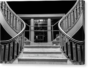 The Stairwell Canvas Print