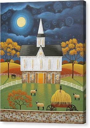 The Star Barn Canvas Print