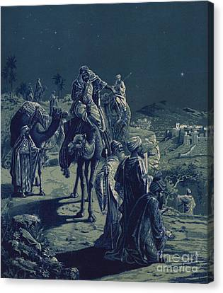 The Star Of Bethlehem Canvas Print by English School