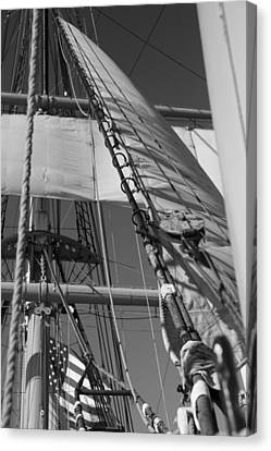 The Star Of India Mast Canvas Print