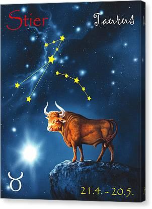 The Star Taurus Canvas Print by Johannes Margreiter
