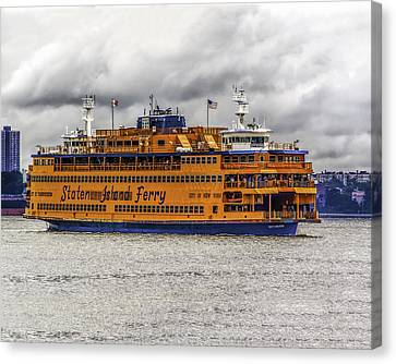The Staten Island Ferry Canvas Print