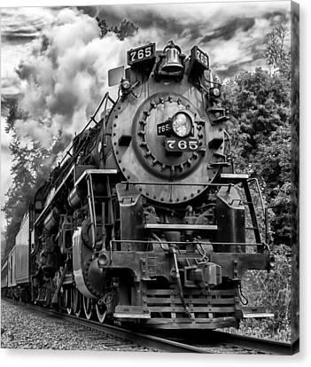 The Steam Age  Canvas Print
