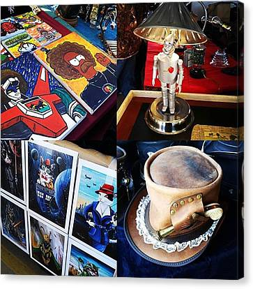 The Steampunk Industrial Show Was Canvas Print
