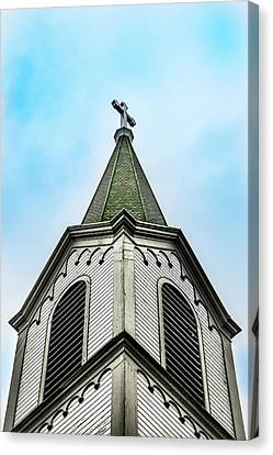 Canvas Print featuring the photograph The Steeple by Onyonet  Photo Studios