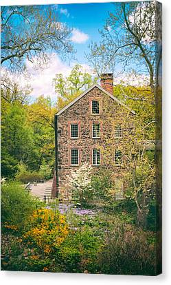 The Stone Mill In Spring Canvas Print by Jessica Jenney